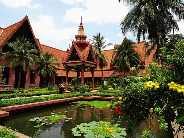 Nationale Museum in Phnom Penh